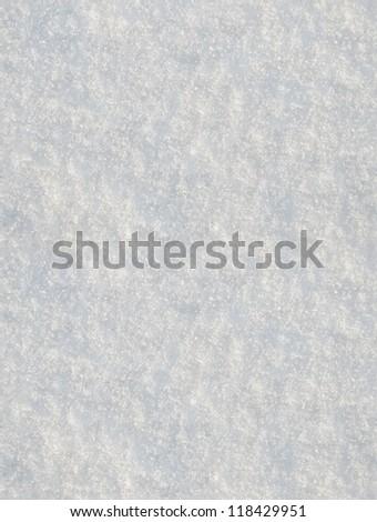 seamless snow texture, shot as background - stock photo