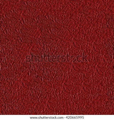 Seamless square texture. Red paper texture, can be used as background. Tile ready. - stock photo