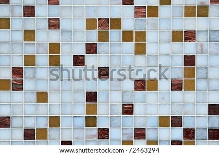 Seamless Square Tiles Background - stock photo