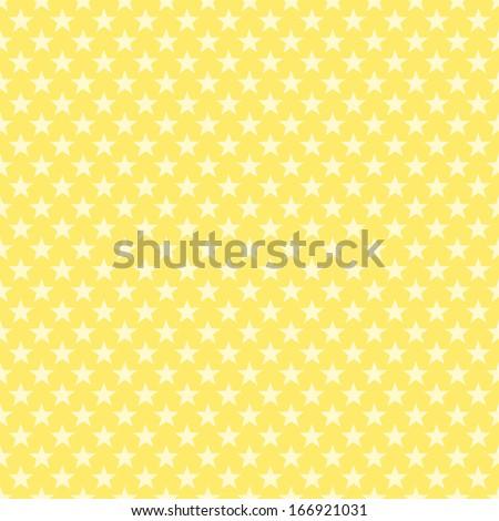Seamless Star Background - stock photo