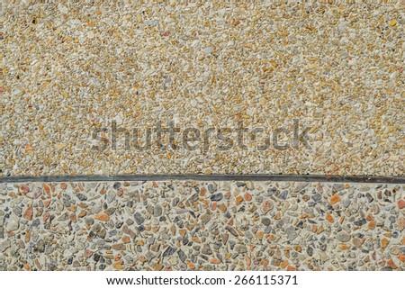 Seamless Stone Pebble Texture Pattern  - stock photo