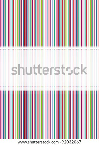 Seamless stripe pattern with stylish colors. Illustration