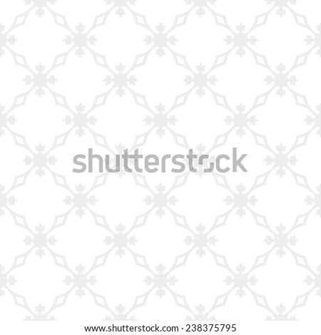 Seamless subtle gray vintage revival geometric pattern - stock photo