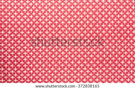 seamless textile background photo of hand made pattern