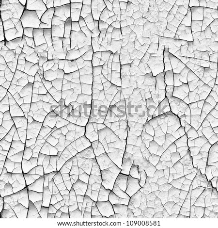 Seamless texture - a wall with cracks