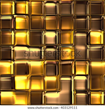 Seamless Texture abstract squares purple 3D illustration