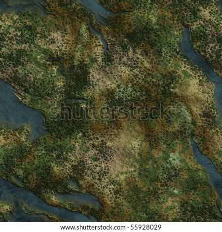 Seamless Texture Earth high-resolution 36 megapixels. Texture number 2 in the collection of the author - stock photo