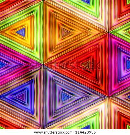 Seamless Texture kaleidoscope - stock photo