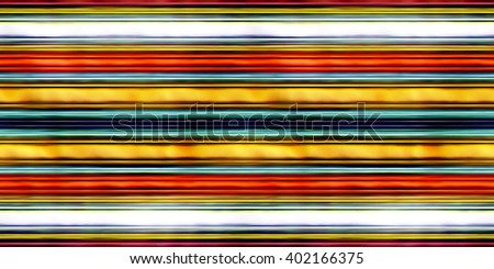 seamless texture multicolored horizontal lines 3D illustration