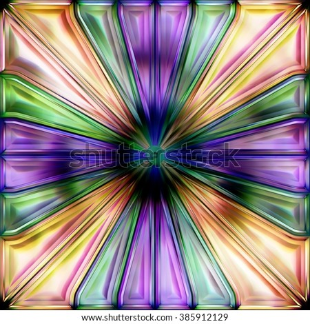 Seamless texture of abstract bright shiny