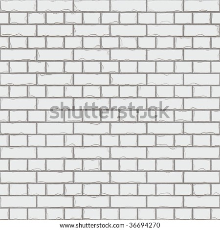 Seamless  texture of brick wall. Can be used as background. - stock photo