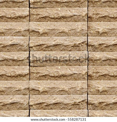 seamless texture of bricks, some photographs used