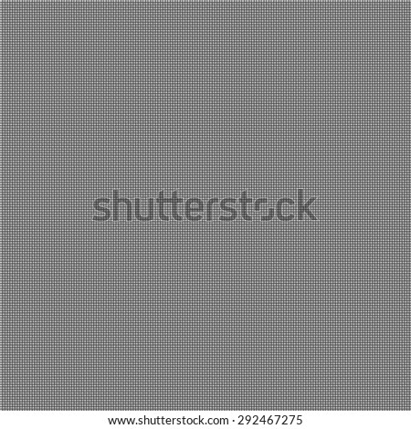Seamless texture of dark grey glossy fabric densely woven as simple criss-cross pattern. Bitmap illustration based on a vector tile.
