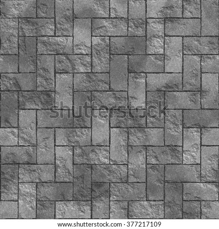 Seamless texture of gray tile. A high resolution. - stock photo