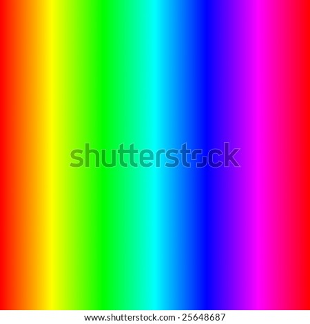 seamless texture of the visible optical light spectrum - stock photo