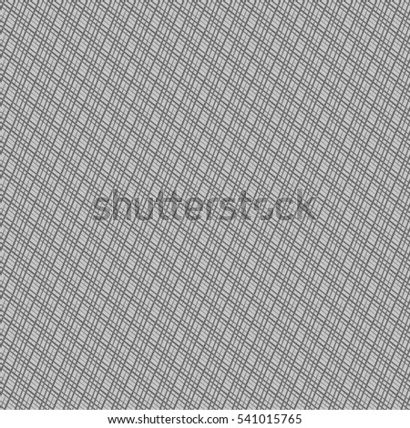 Seamless texture of uneven interlaced diagonal grey threads. Designed for use as bump map for 3d modeling.