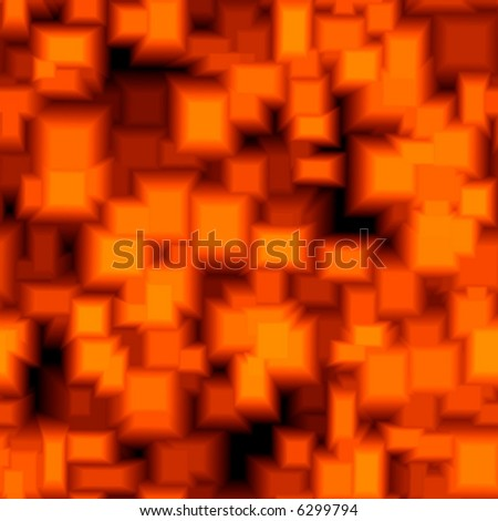 seamless texture red lava - stock photo