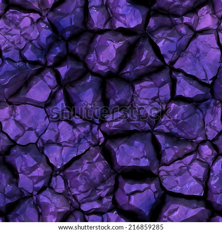 Seamless texture showing mineral close up - stock photo