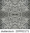 seamless texture snake skin - stock photo