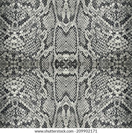 seamless texture snake skin - stock photo
