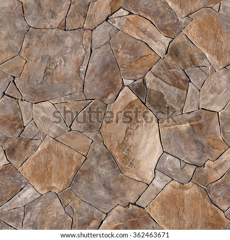 Seamless texture stone wall. Seamless  background. - stock photo