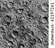Seamless Texture surface of the moon - stock photo