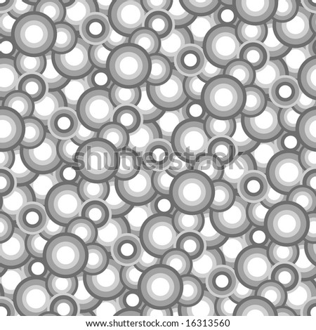 Seamless texture with grey balls. Vector version is in my portfolio