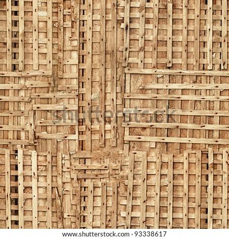 Seamless texture - wooden board - stock photo