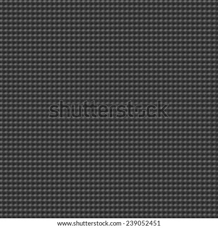 Seamless tile able square colorful background consisting of small squares and lines. Black and gray.
