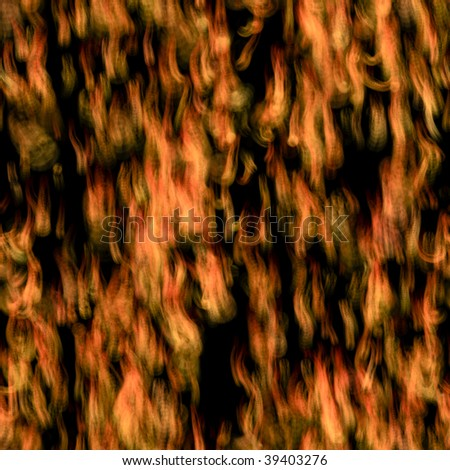 Seamless tile of sparse flames perfect for backgrounds - stock photo