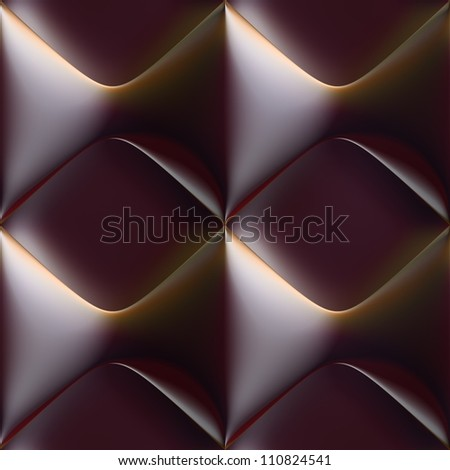 seamless tileable 3d background pattern - stock photo