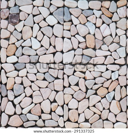 Seamless Tileable Texture of Paving Slabs. - stock photo