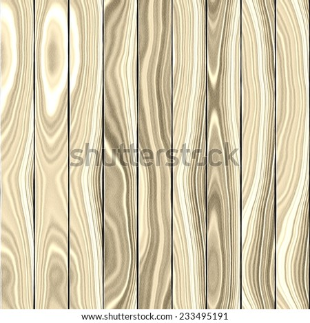 Seamless tileable wood board texture - stock photo