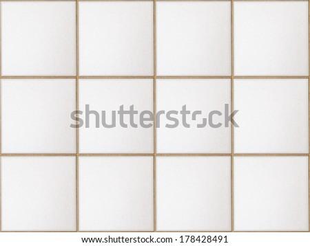 seamless tiles texture as background - stock photo