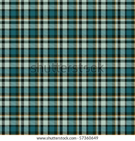 Seamless tiling blue plaid textures - stock photo