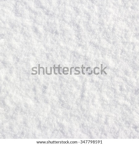 seamless, tillable snow texture - stock photo