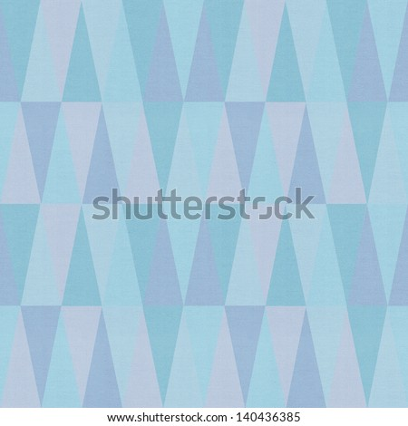 Seamless triangle patten on texture paper - stock photo