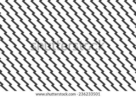 Seamless unusual zig zag pattern