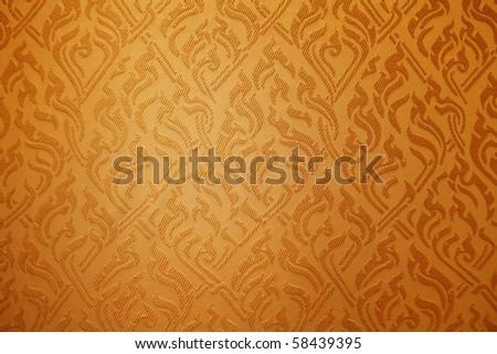 Seamless vintage fabric - stock photo