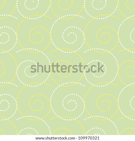 Seamless vintage pattern/ background/wallpapers with curls