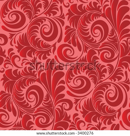 Seamless Vintage Repeating Wallpaper Pattern