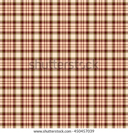 Seamless wall-paper, plaid, beige-brown. Bright tartan structure for clothes, a background for cards, the wedding invitation, packing paper, websites, etc.