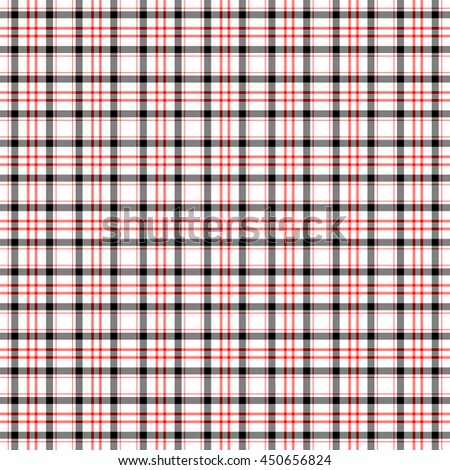 Seamless wall-paper, plaid, black-red. Bright tartan structure for clothes, a background for cards, the wedding invitation, packing paper, websites, etc.