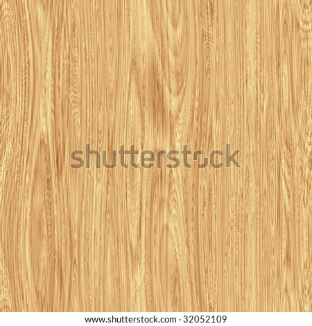 Seamless Wood Background - stock photo