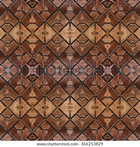 Seamless wood : Decoration wall and floor - stock photo