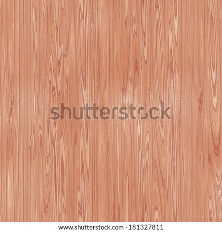Seamless wood texture (computer graphic) - stock photo