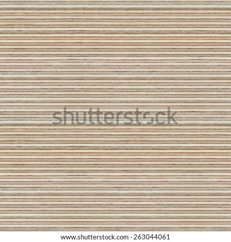 Seamless wood texture. Plywood cross cut pattern. - stock photo