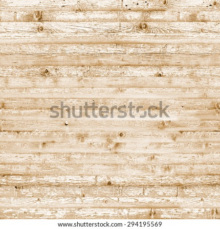 Seamless wood texture yellow background - stock photo