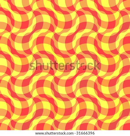 Seamless yellow textile pattern