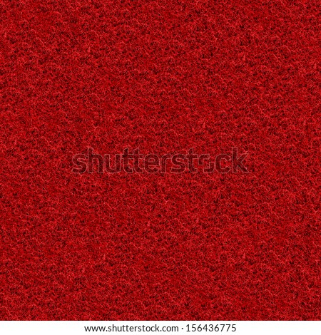 Seamlessly red carpeting background. - stock photo